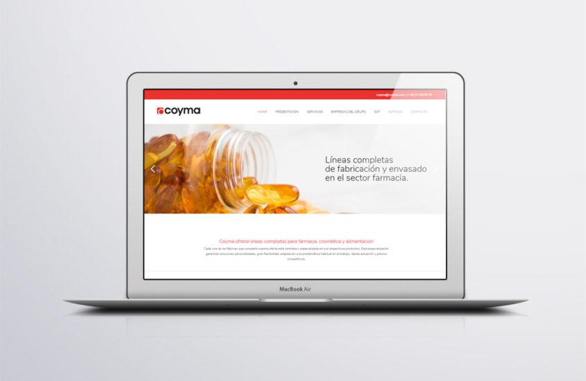 pagina web coyma