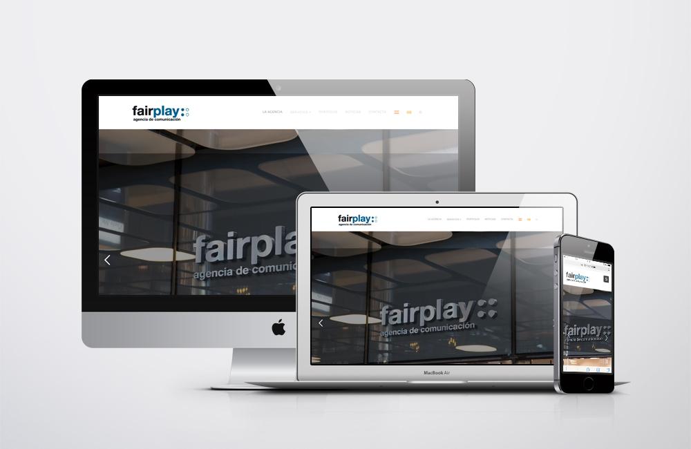 web fair play comunicacion