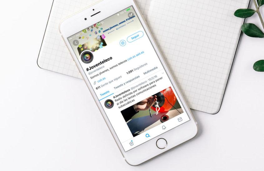 redes sociales joven teleco coit