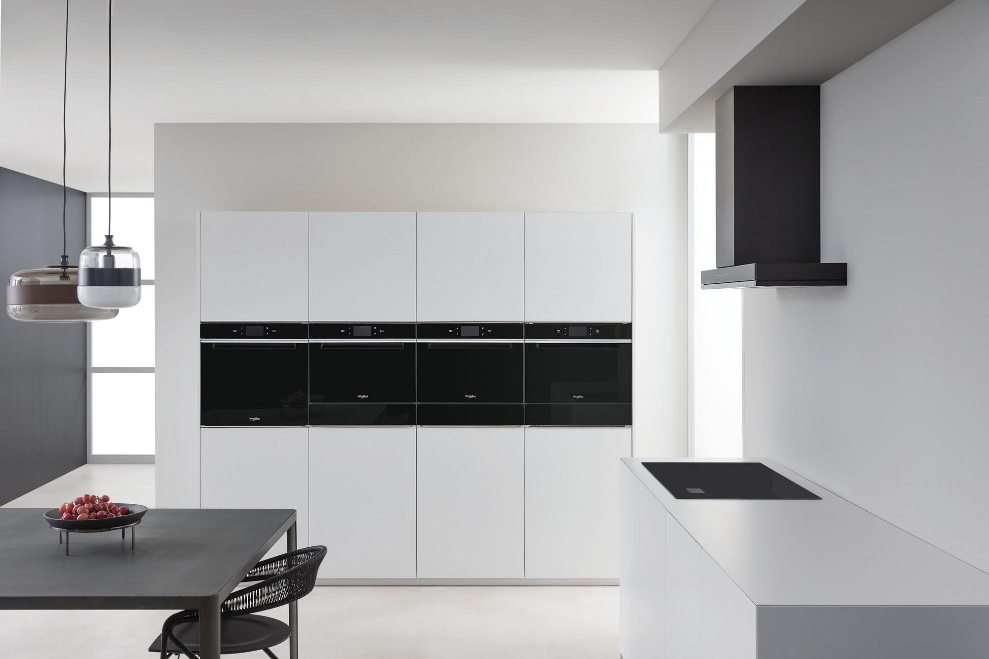 Conectividad y diseño en la nueva gama W Collection de Whirlpool