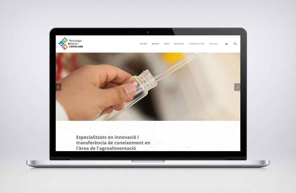 CERTA-UAB confía en Fair Play Comunicación para el diseño de su nueva página web
